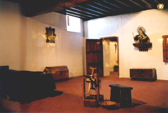 Celda de Santa Teresa en Ávila