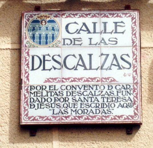 Santa Teresa en Segovia 01
