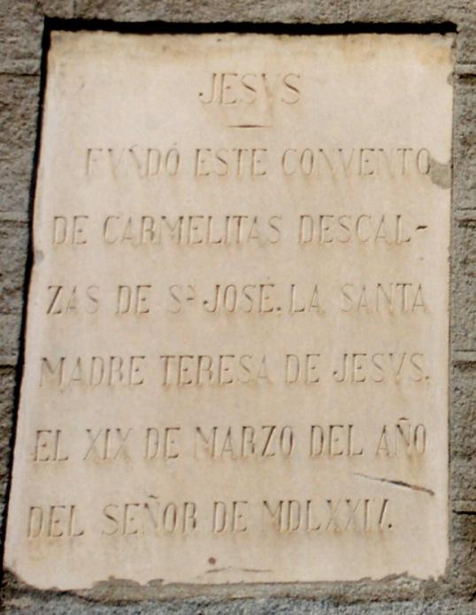 Santa Teresa en Segovia 02 bis