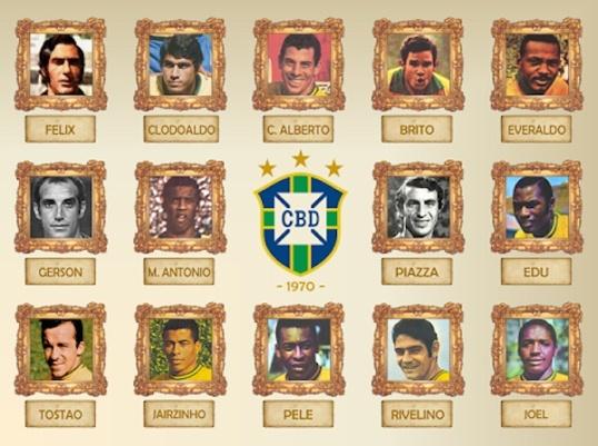Selección Brasil 1970